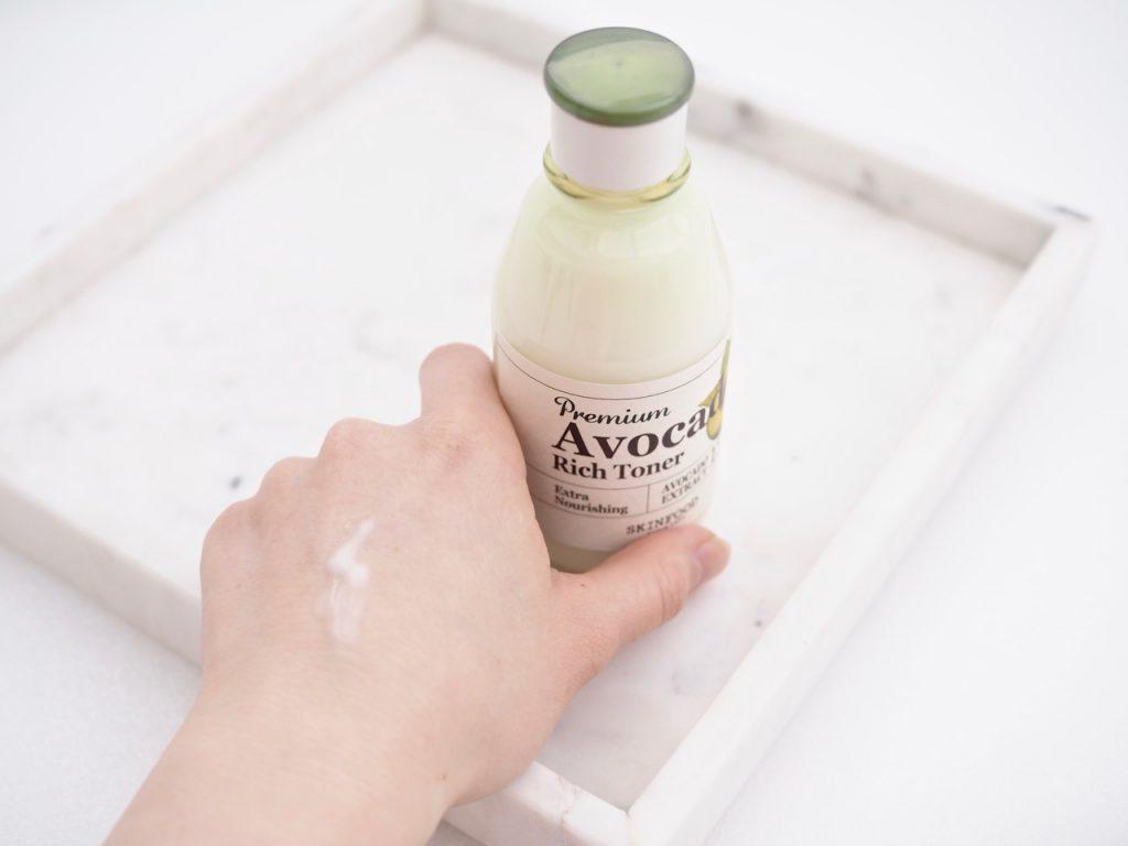 Skinfood Premium Avocado Rich Emulsion and Toner Ostolakossa Kokemuksia