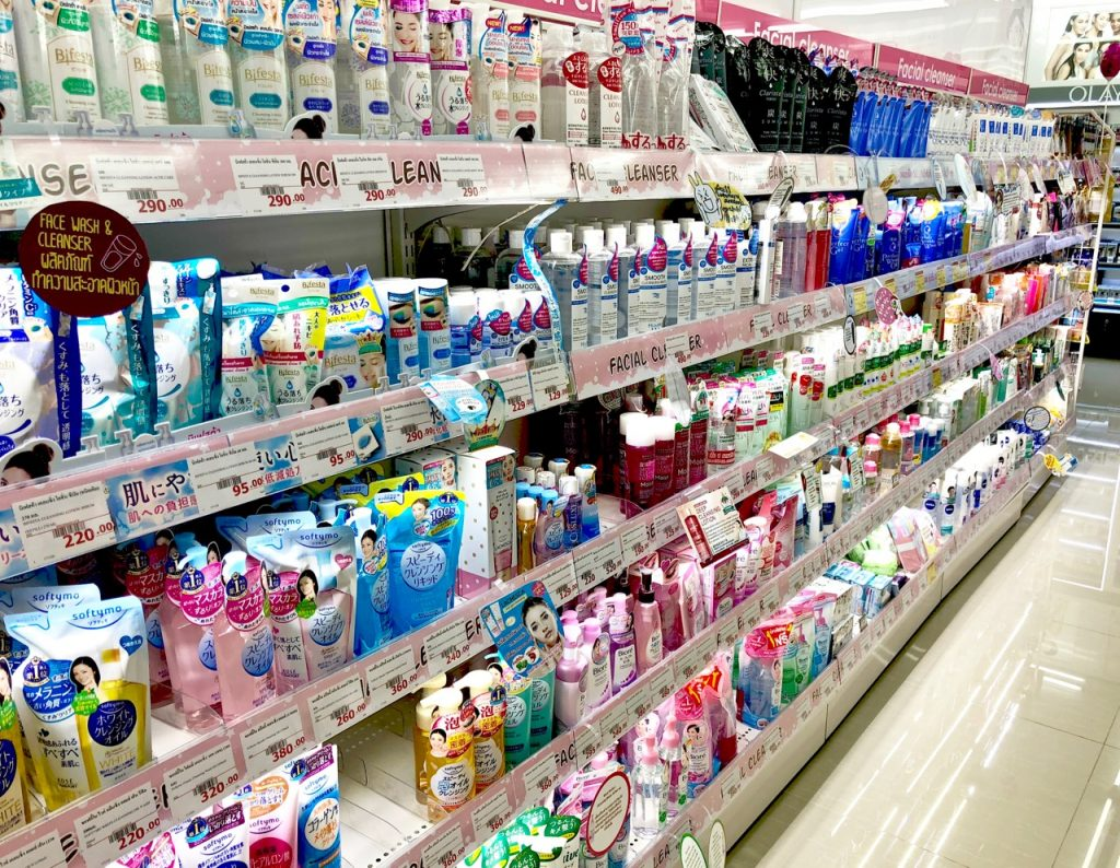 Japanilainen kosmetiikka Bangkok Ostolakossa - 1