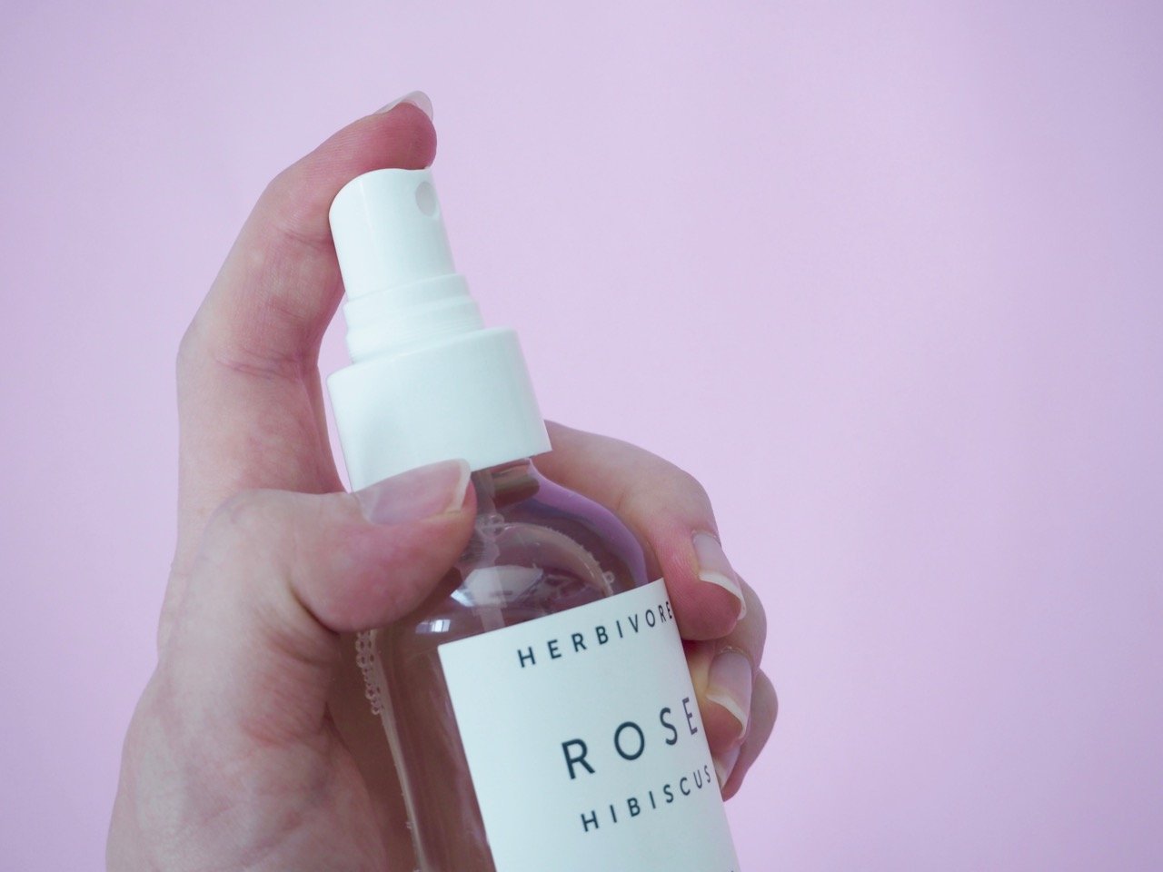 Herbivore Rose Hibiscus Coconut Water Hydrating Face Mist