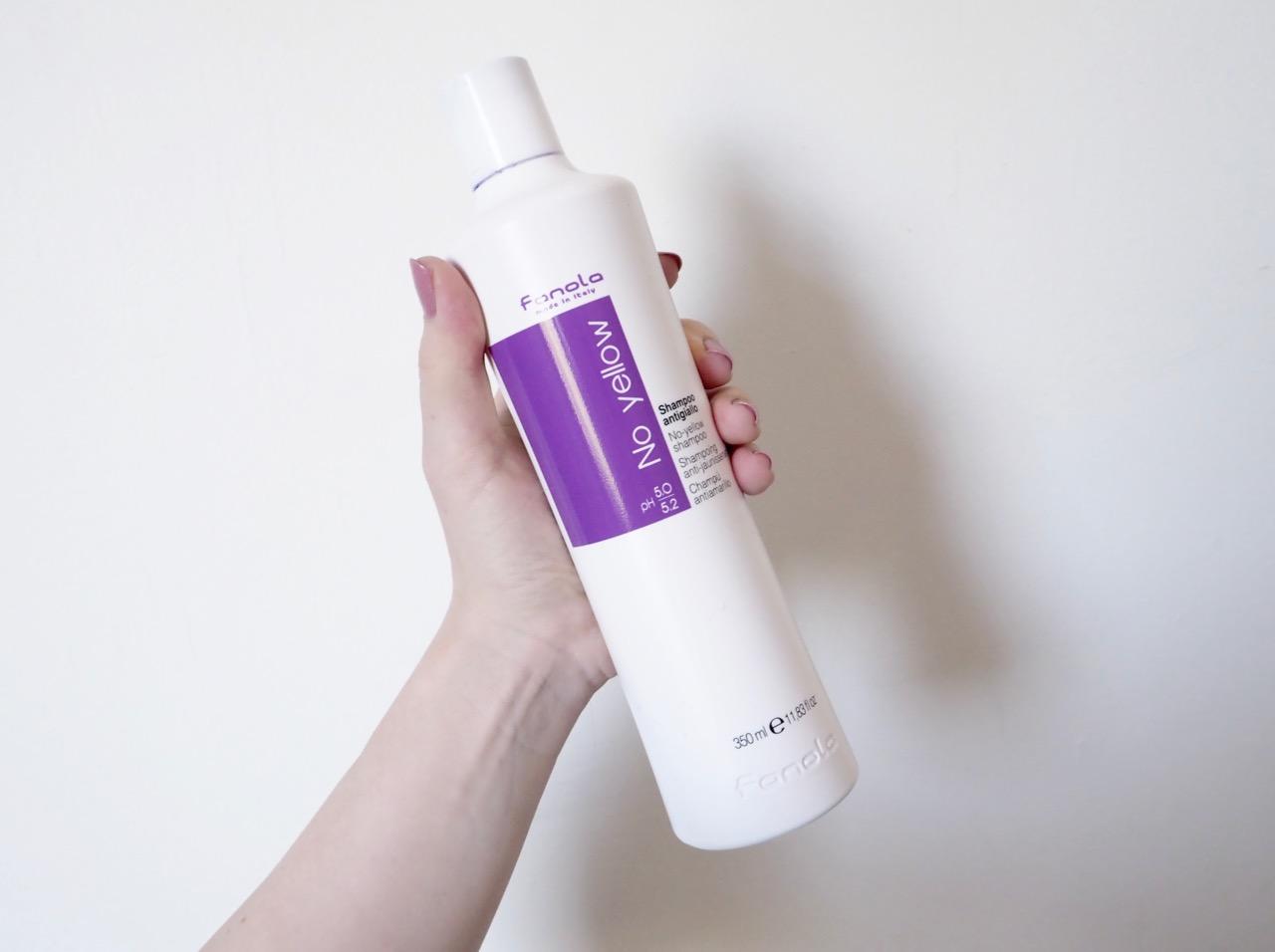 Ostolakossa Fanola No Yellow shampoo