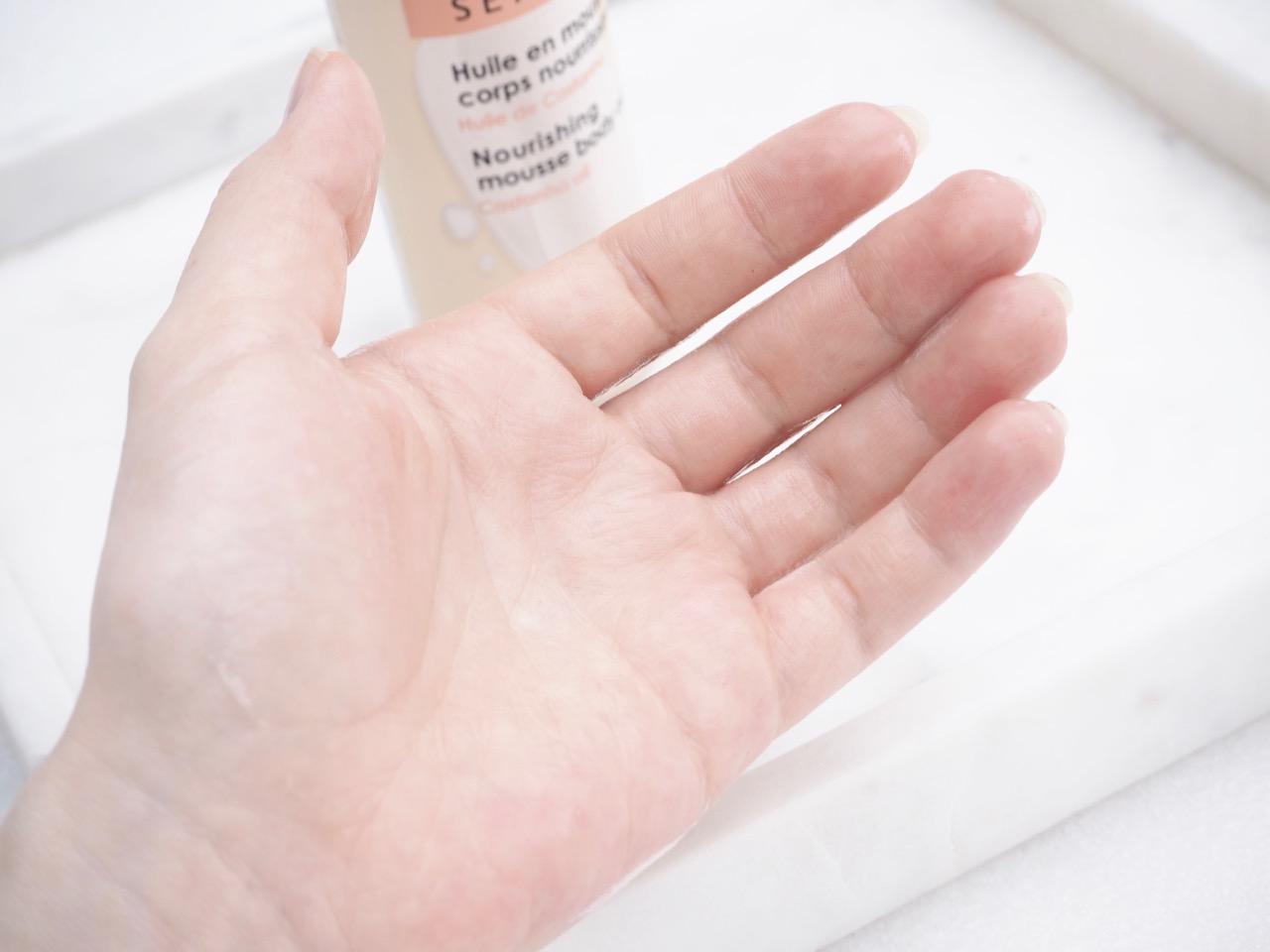 Sephora Nourishing Mousse Body Oil kokemuksia Ostolakossa Virve Vee blogi