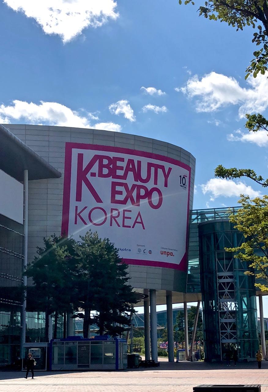 Ostolakossa K-Beauty Expo 2018 Virve Vee