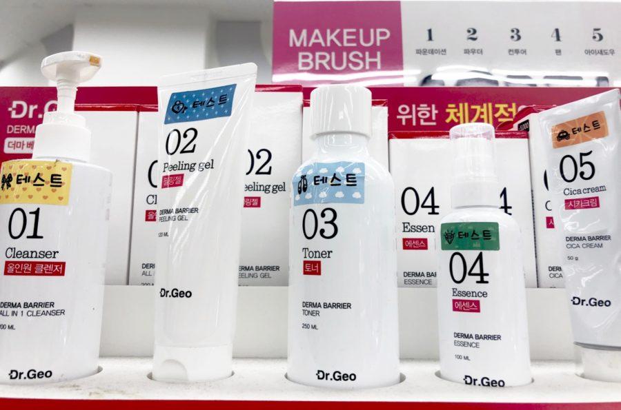 Ostolakossa korealainen ihonhoito derma barrier booster tuotteet