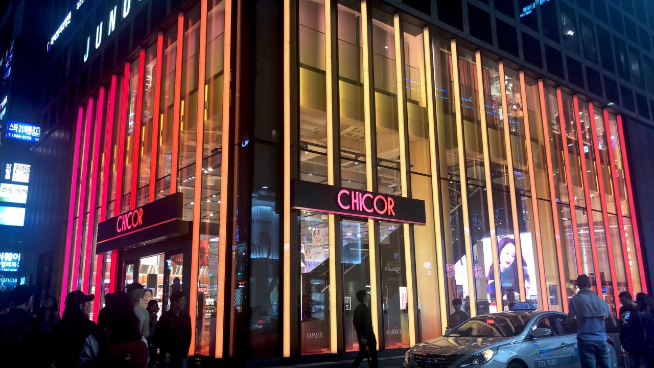 Ostolakossa CHICOR Seoul