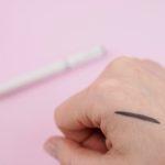 Täydellisen harmaanruskea eyeliner