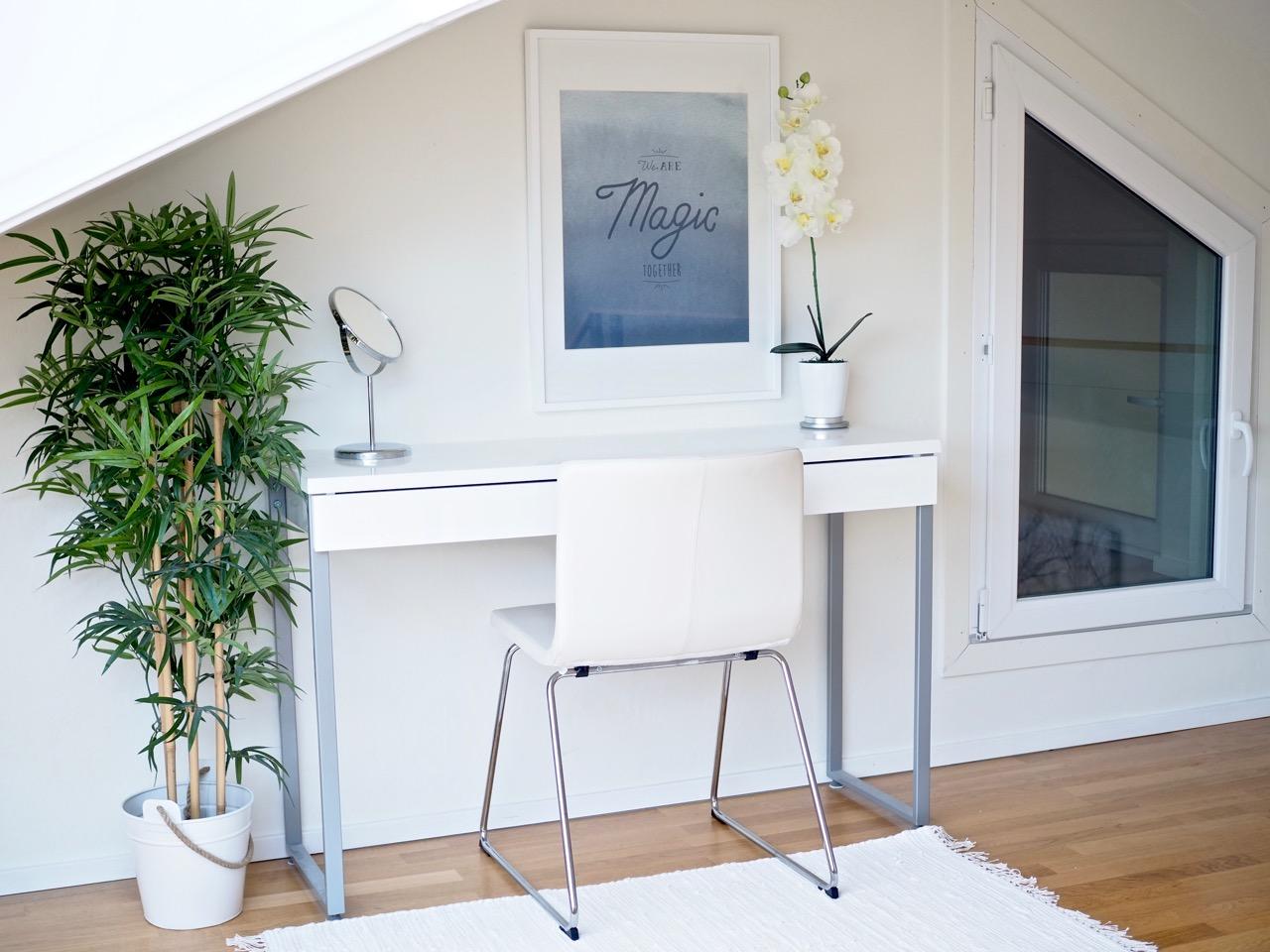 Miksi minimalistin kotona on aina valkoista?
