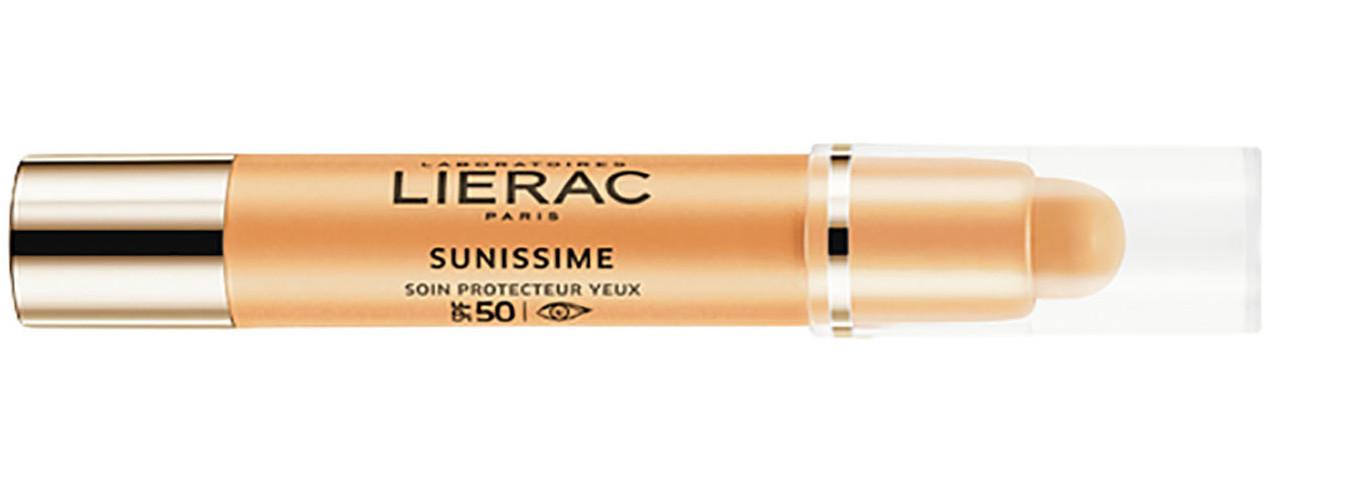 suojakertoimellinen silmänympärsvoide Lierac Sunissime Protective Eye Care Global Anti-Aging SPF50