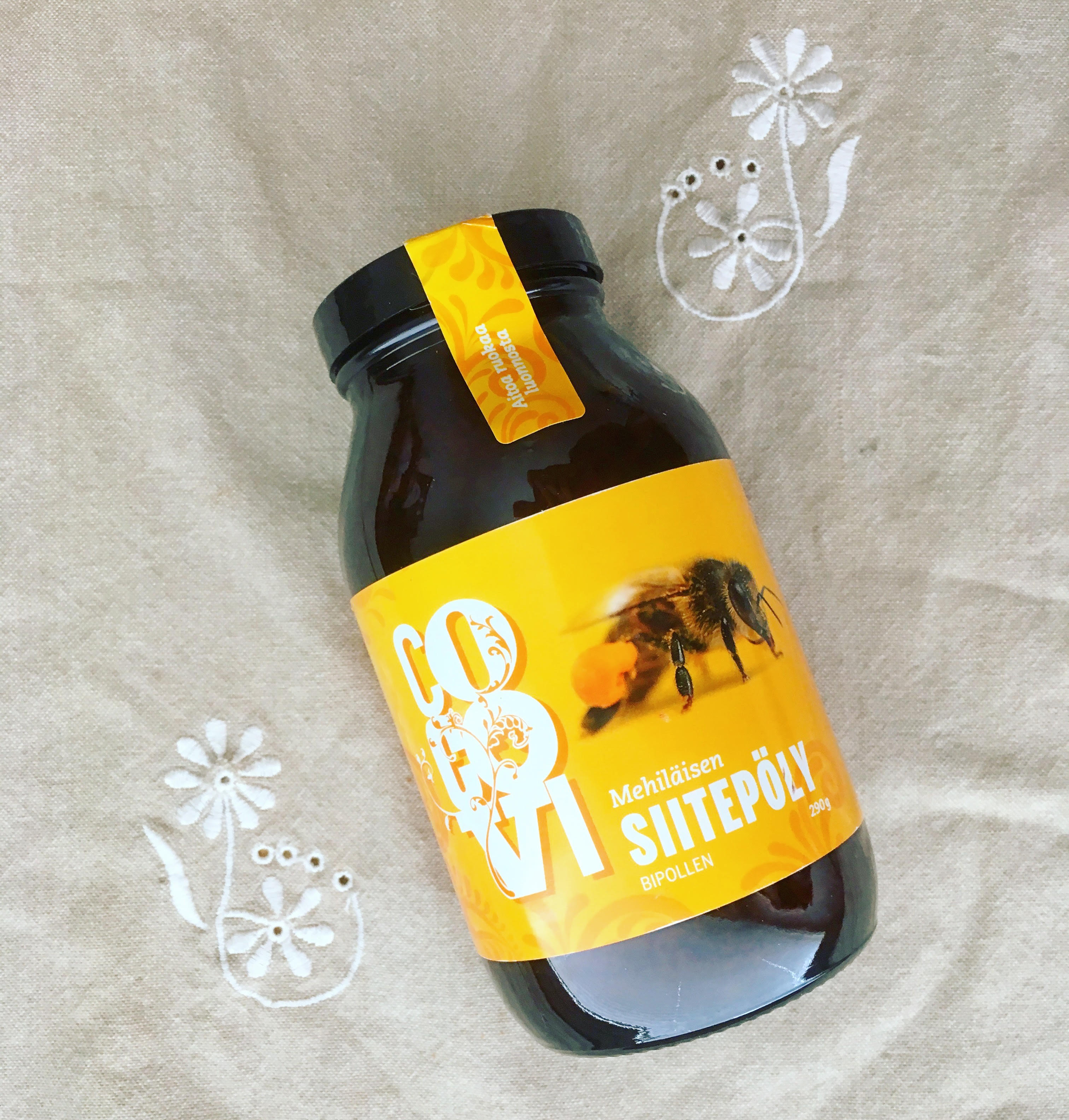 cocovi-mehiläisen-siitepöly