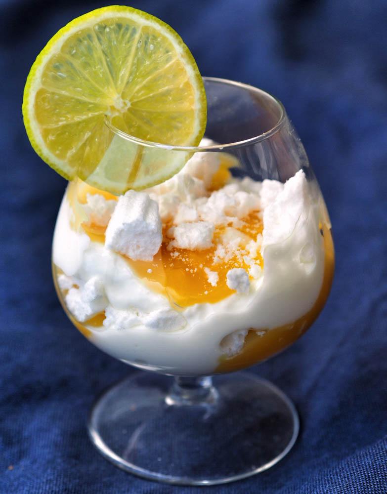 lemon curd eton mess