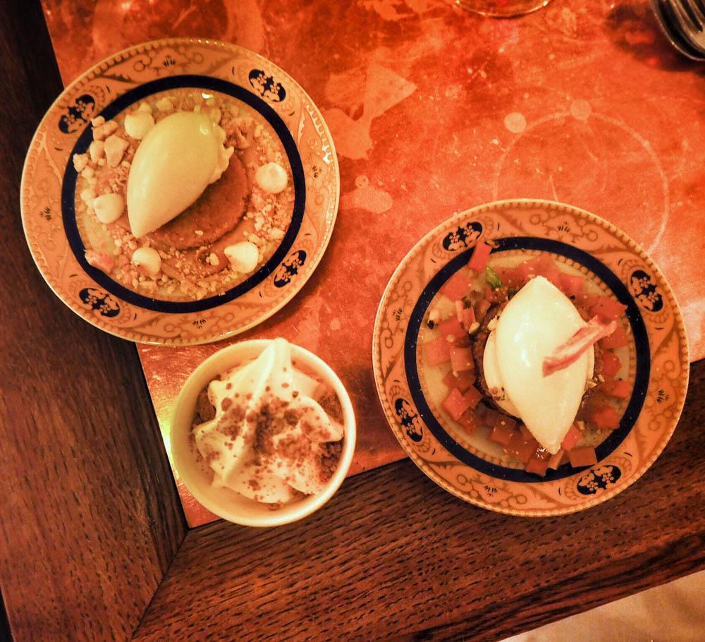BOULEVARD SOCIAL SOFT ICE CREAM - itsetehtyä softista LEMON PIE `MARRAKESH´ - oliiviöljy-sablekeksi, suolakaramellia, sitruunalabneh, hunaja-sitruunatimjamijäätelöä