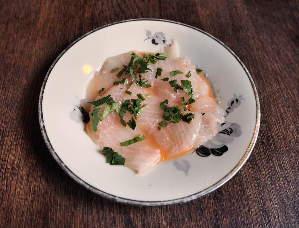 White fish cheviche