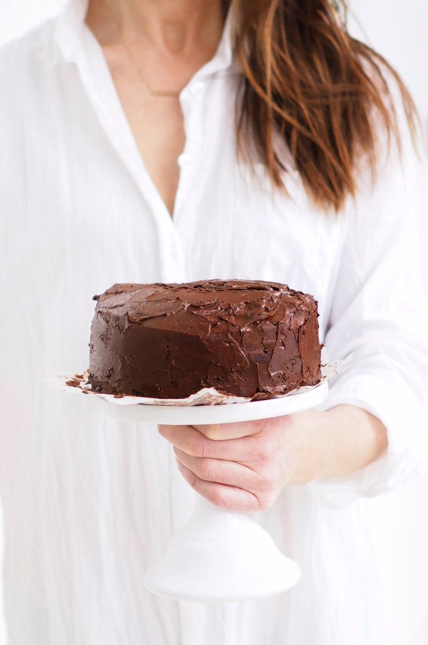 Suklaakuorrute Kakun Päälle