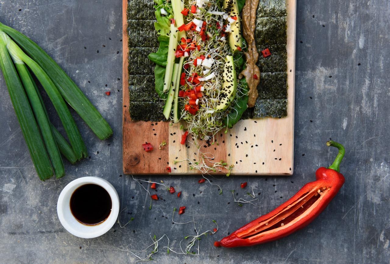 ketogeenista ja vegaanista pikaruokaa Karita Tykkä