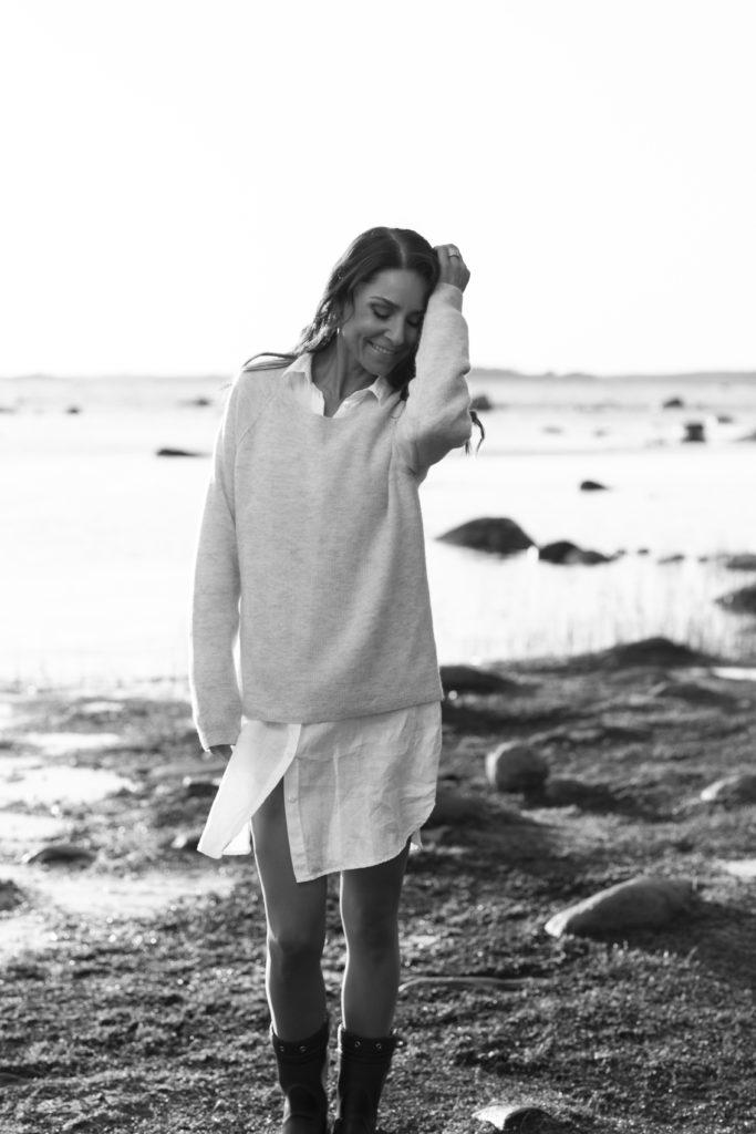merten muoviroskasta sukkahousuja Karita Tykkä
