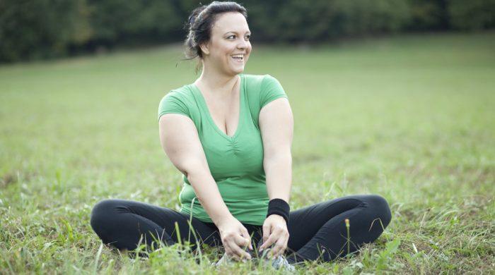 Onnellinen ja omassa painossa ilman tiukkaa laihdutusta.