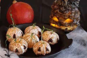 syötäviä halloween-koristeita