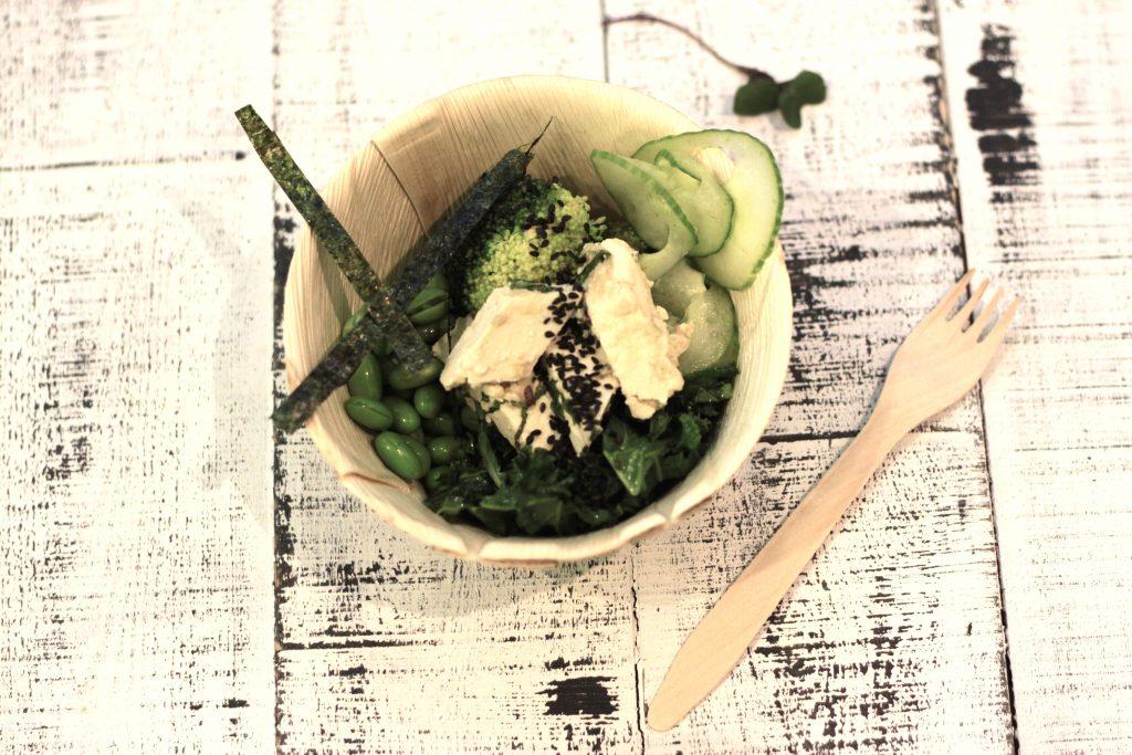 Jalotofun pop up keittiö tarjoilee tofua ilmaiseksi