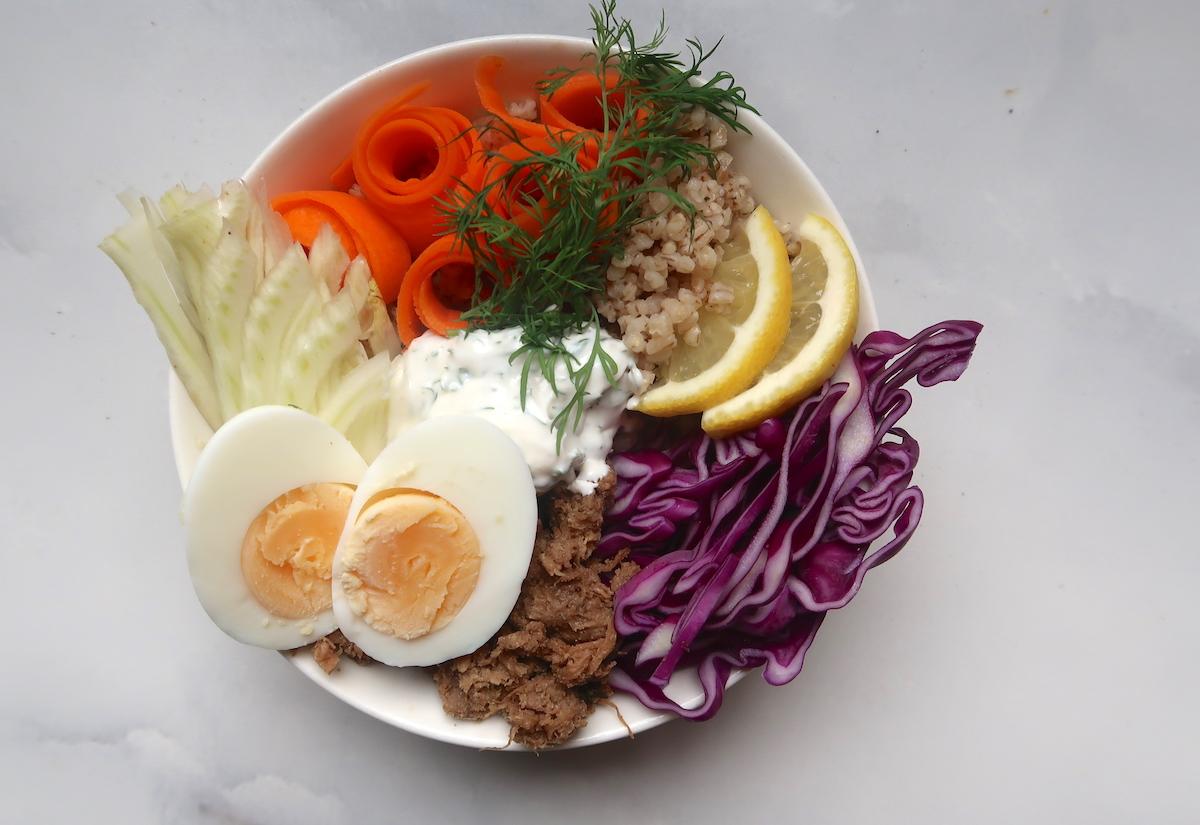 Nordic bowl nyhtökauralla