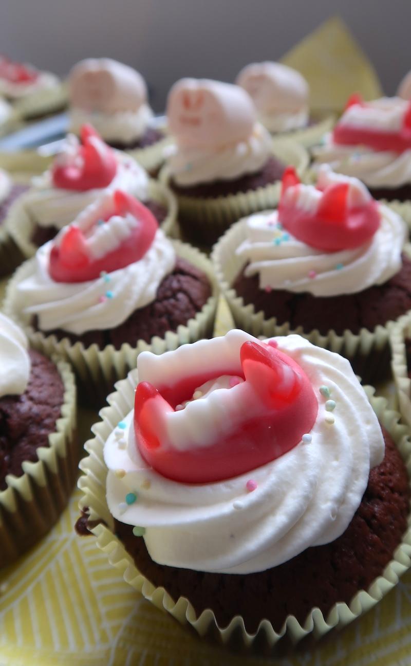 Gluteenittomat halloween-muffinit