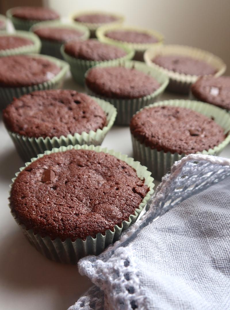 kypsät muffinit