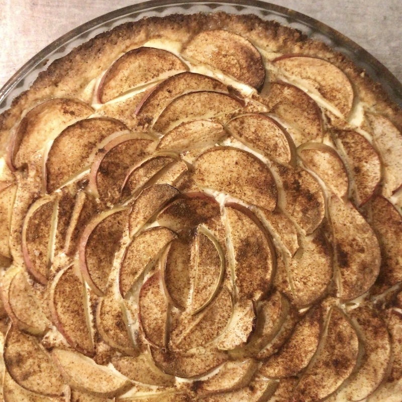 omena-rahkapiirakka