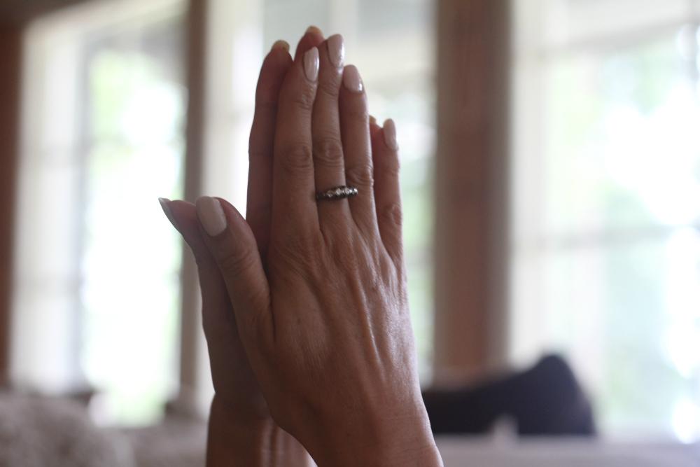 intialainen rukousasento