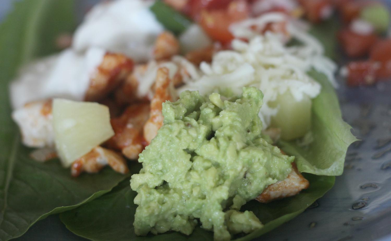 Quacamole ja vhh meksikolainen ateria
