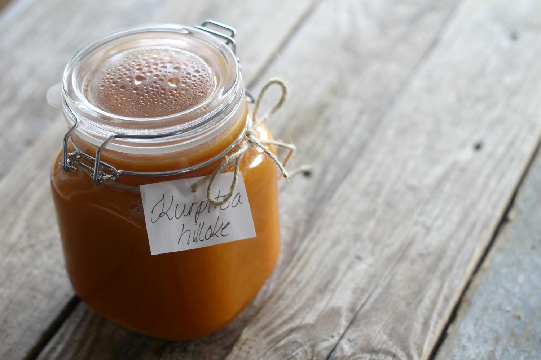 Tee itse raikas sitruunainen kurpitsahillo