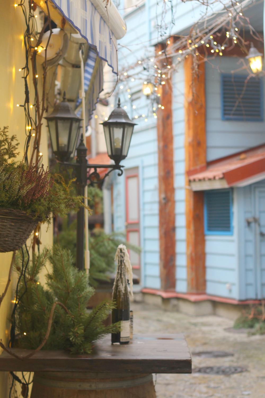 Tallinnan vanhankaupungin joulutunnelmissa