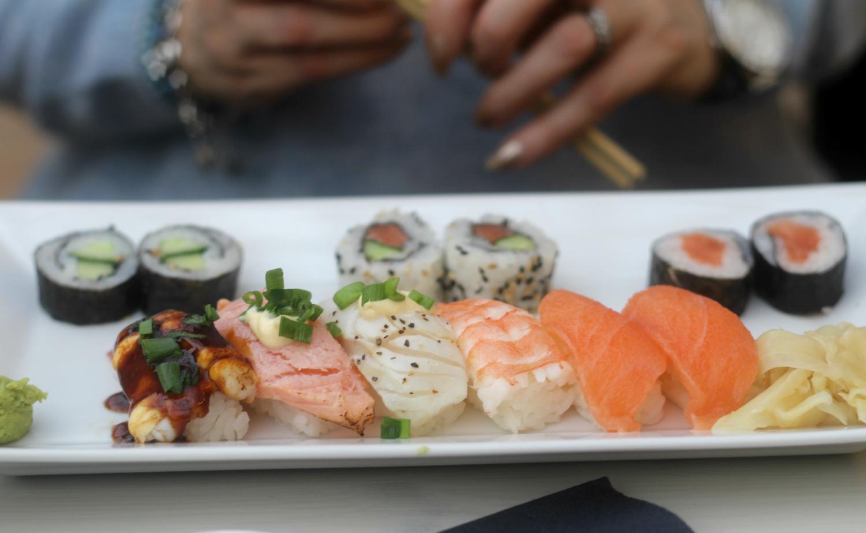 Sushin himoissa ja uusia sushi-paikkoja etsimässä