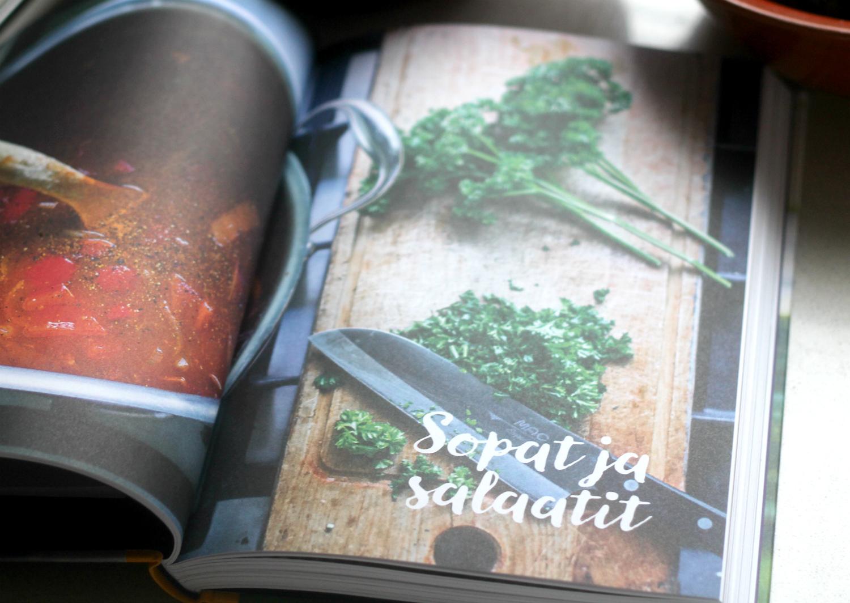 Lohtuoruokaa -kirja on yhtä ihana kuin nimensäkin