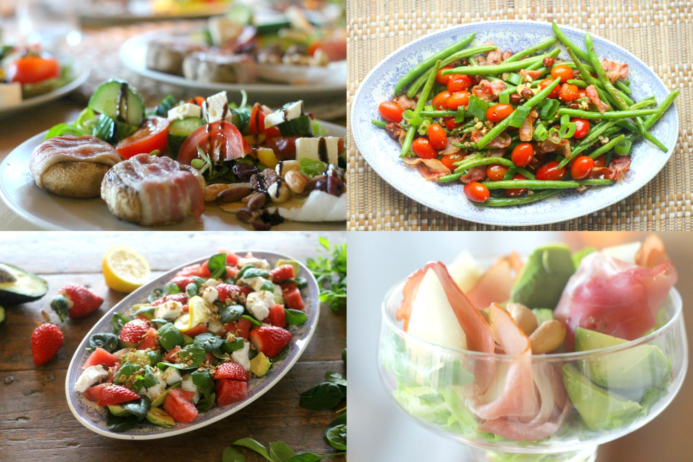 Kevään suosikit: 10 herkullisinta salaattia