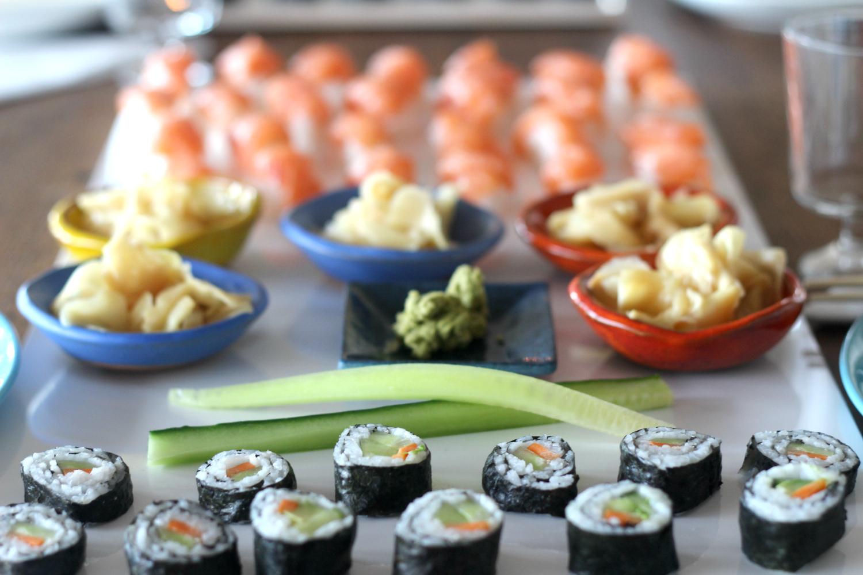 Hyvä viinisuositus sushin kanssa (+Thai-maustetun kalan)