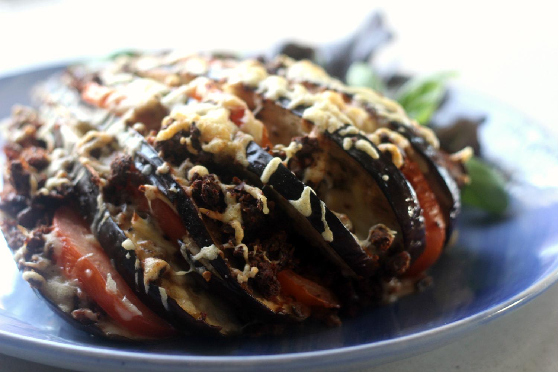 Grillatut BBQ-Munakoisot Italian täytteillä