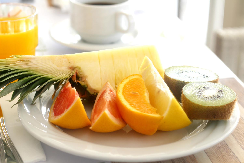 Loman luksusta on aamutreeni ja pitkä aamiainen