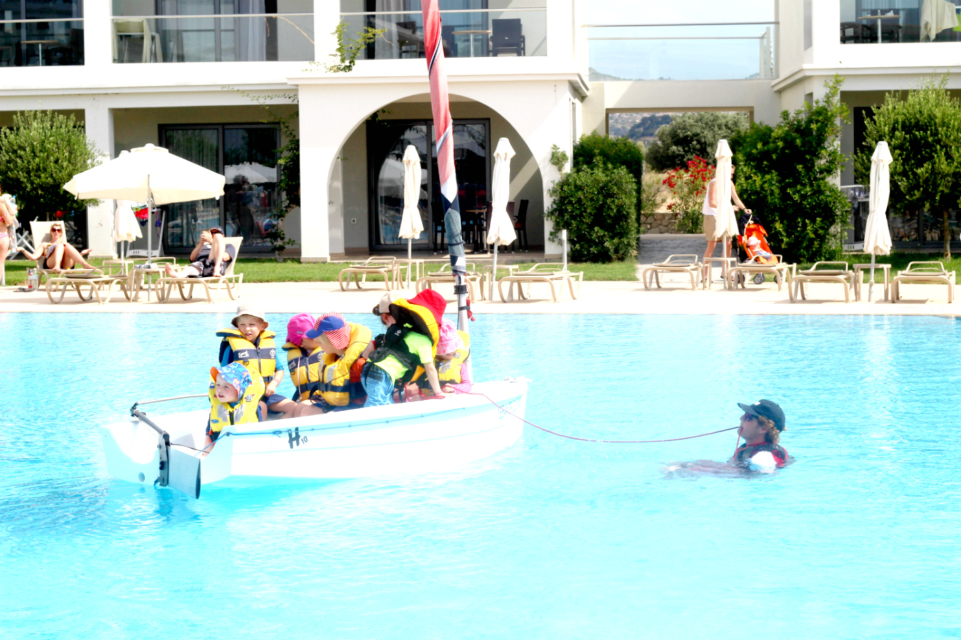 Lasten huomioimista aktiviteettilomalla