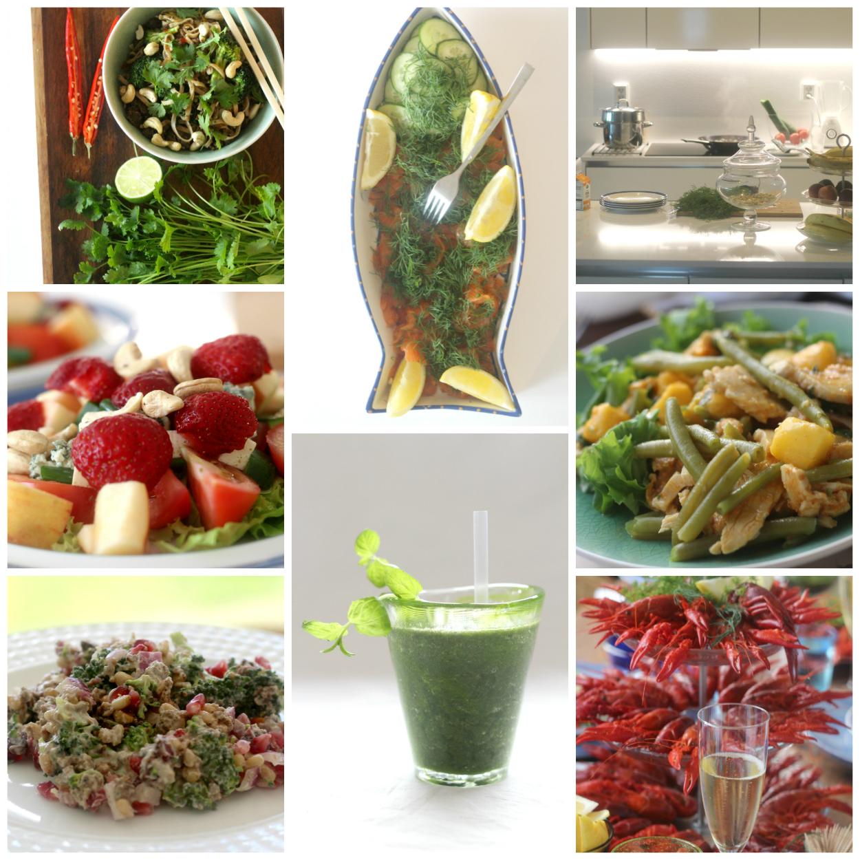 Yli 1 000 terveellistä reseptiä helposti haettavissa