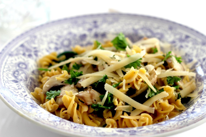 Herkullinen Funghi pasta
