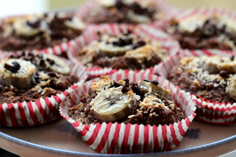 Suklaiset banaanimuffinssit – terveellistä herkuttelua