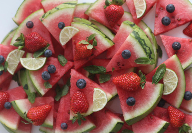 Mansikat ja melonit