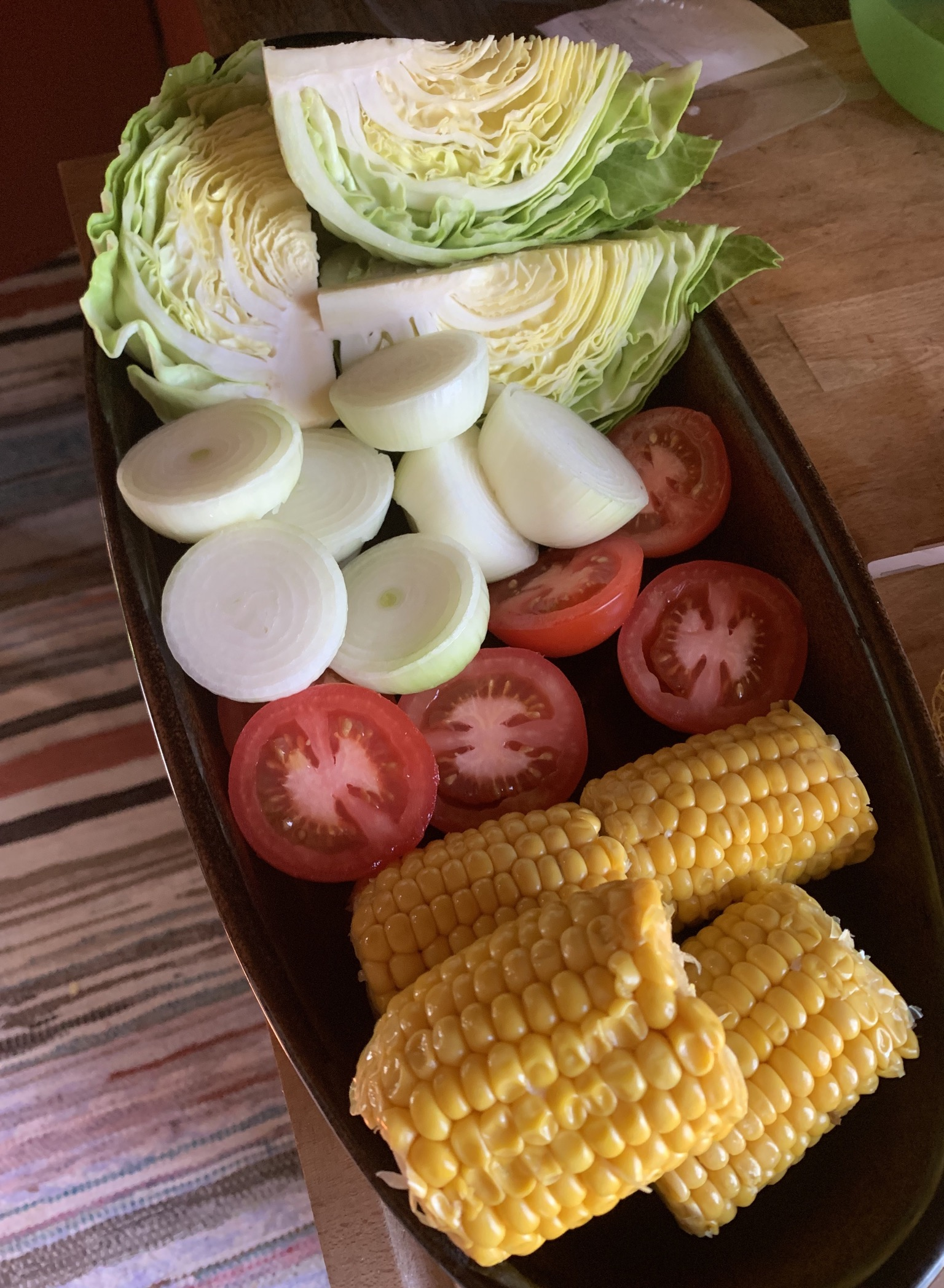 vihanneksia grilliin
