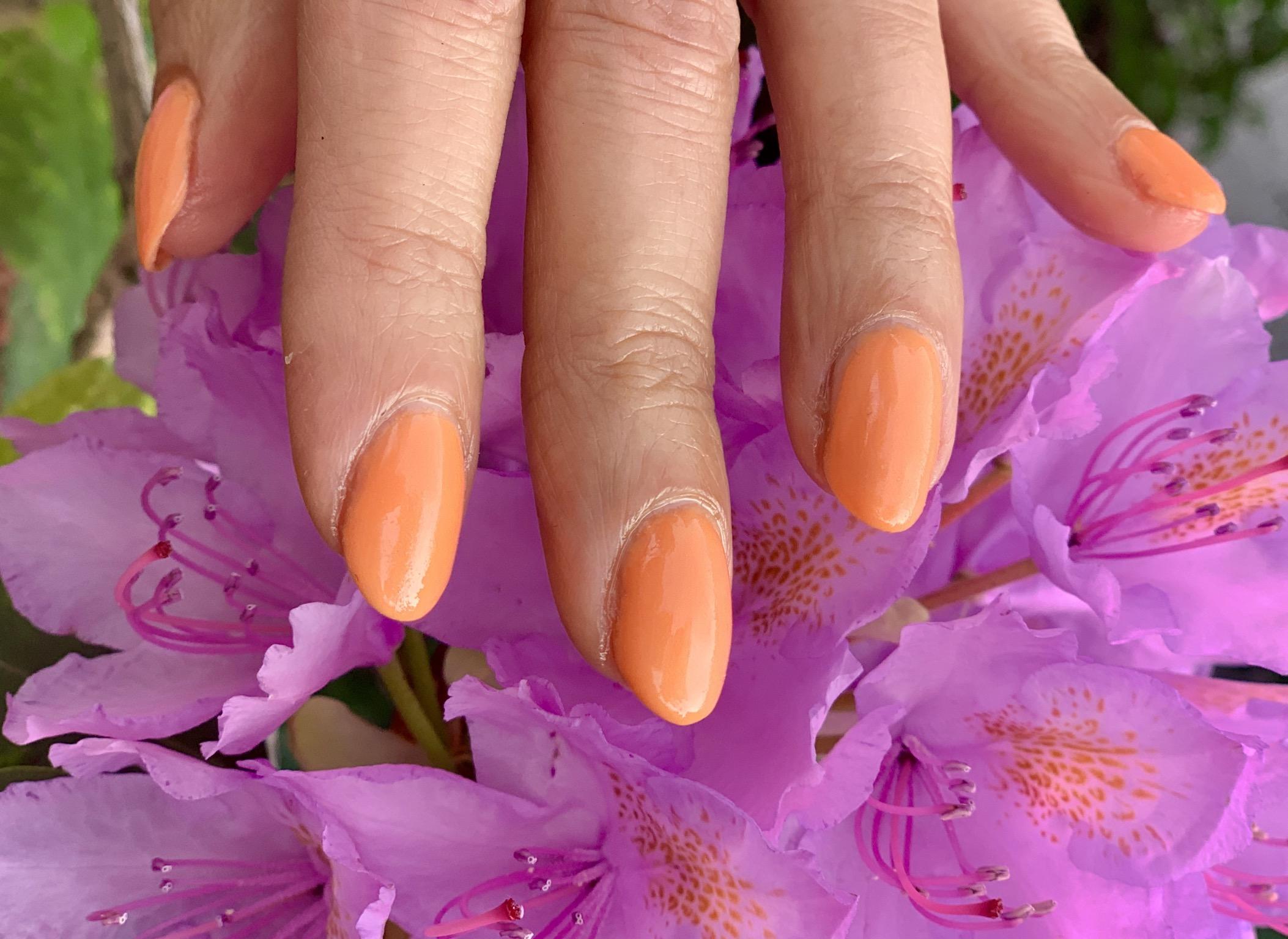 Väriterapiaa oranssista