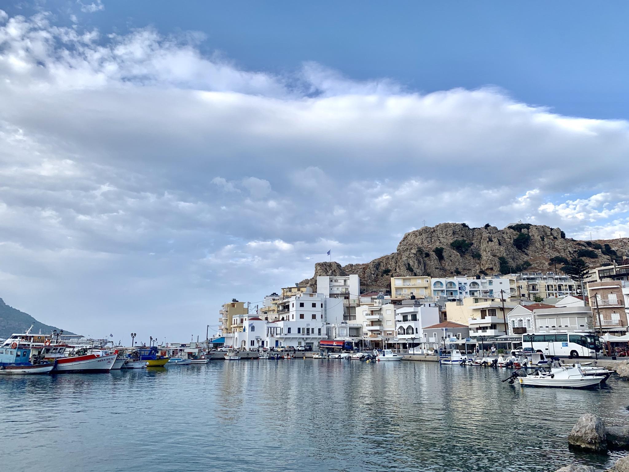 Lumoava Kreikan saari Karpathos