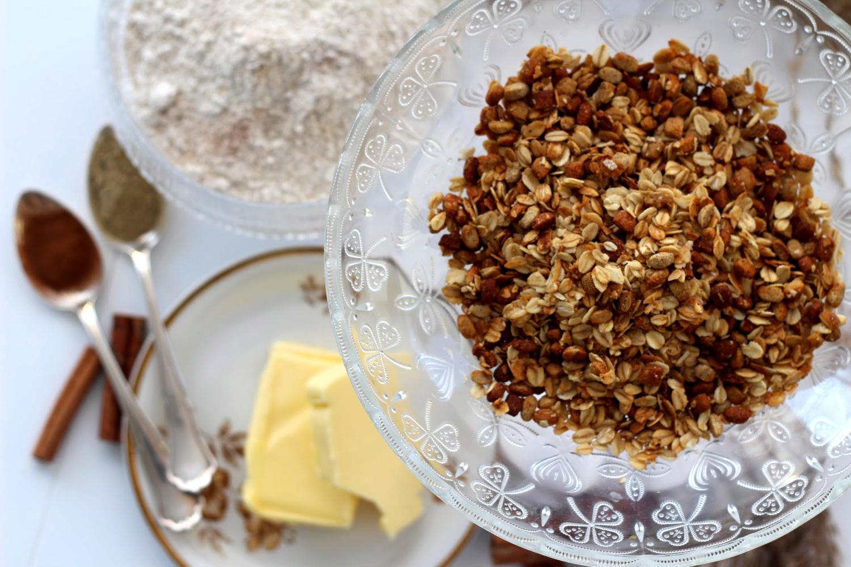 Mausteiset granolakeksit - joulun helpoin herkku