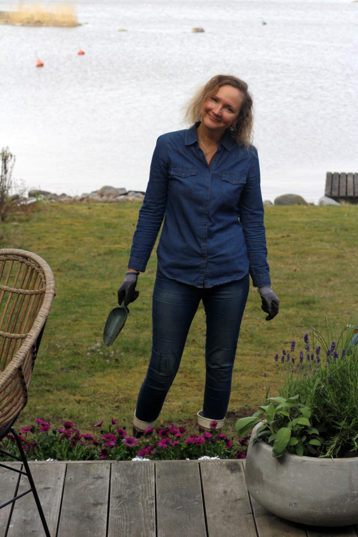 Onnellisuutta puutarhasta